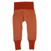 4619-cs200-pantalon-legging-ceinture-large-laine-soie-bebe-enfant-cosilana-mamoulia-rayures-orange-ecru-71016-129